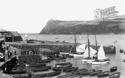 Port Erin, The Harbour 1897