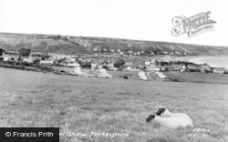 Port Eynon, General View c.1950