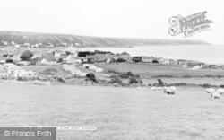 Port Eynon, General View c.1955