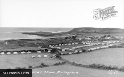 Port Eynon, General View c.1960