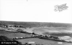 Port Eynon, General View c.1965