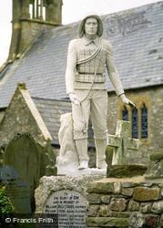 Port Eynon, Lifeboat Merorial, St Cattwg's Church c.1995