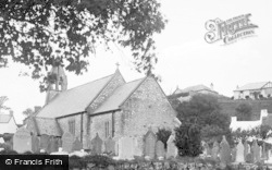Port Eynon, St Cattwg's Church 1937