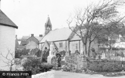 Port Eynon, St Cattwgs Church c.1955
