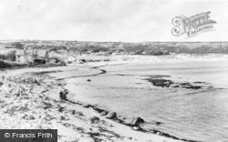 Port Eynon, The Beach c.1955
