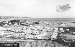 Port Eynon, The Caravan Site c.1960