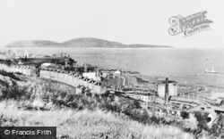 Port Glasgow, And The River Clyde c.1930