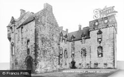 Port Glasgow, Newark Castle c.1930
