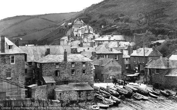 Photo of Port Isaac, 1925, ref. 78828