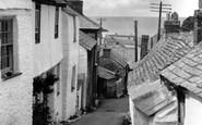 Port Isaac, Church Hill c1955