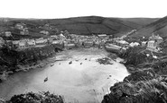 Port Isaac, the Harbour 1920