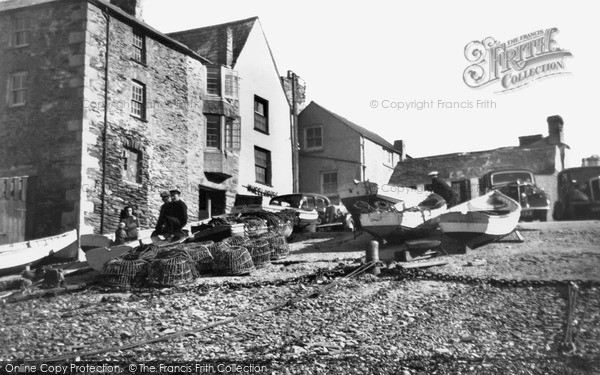 Photo of Port Isaac, The Platt c.1955
