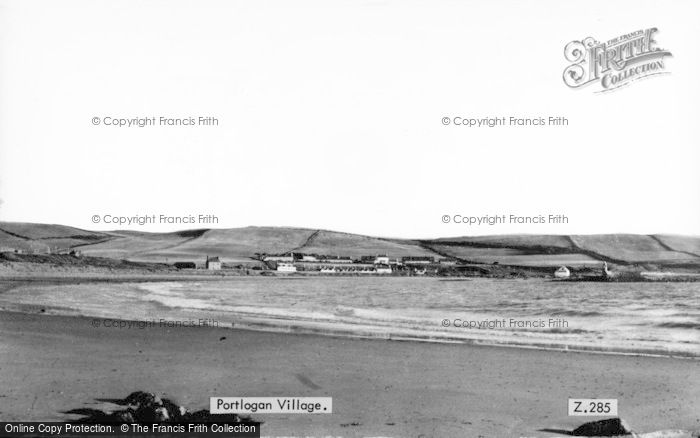 Photo of Port Logan, The Village c.1950