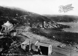 Port Soderick, Beach 1893