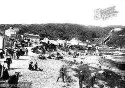 Port Soderick, The Beach 1907