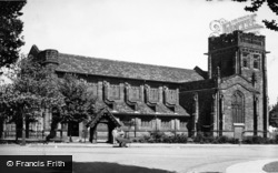 Port Sunlight, Christ Church c.1955