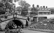 Port Sunlight, Dell Bridge c1955