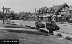 Port Sunlight, Park Road c.1955