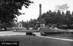 Port Sunlight, The Memorial c.1955
