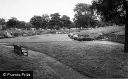 Port Sunlight, The Sunken Gardens c.1965