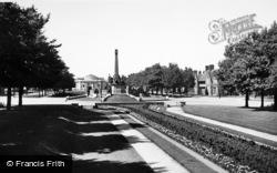 Port Sunlight, The Town c.1955