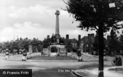Port Sunlight, War Memorial c.1950