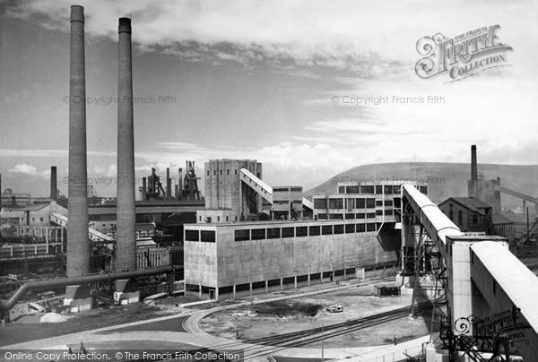 Photo of Port Talbot, Margam Steel Works 1954