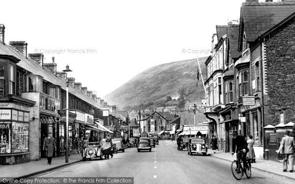 Photo of Port Talbot, Station Road c1955