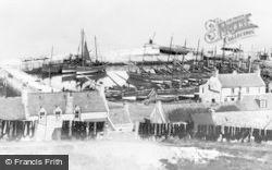 The Harbour c.1910, Portgordon