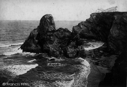 Black Humphrey Rock 1907, Porth