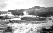 Porth, Blowing Hole and Porth Island 1887