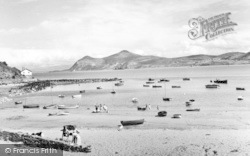 Porth Dinllaen, Harbour And The Rivals c.1960