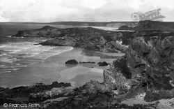 Lusty Glaze Sands 1899, Porth