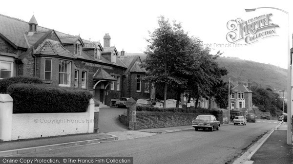 Porth, the Cottage Hospital c1955