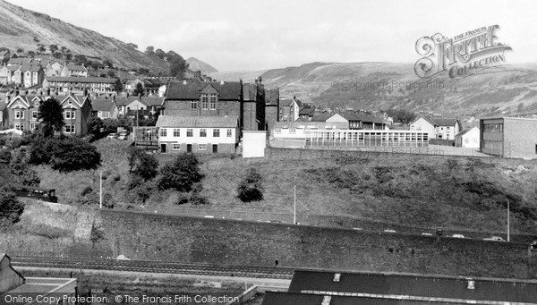 Porth, the Grammar School c1955