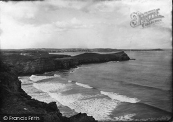 The Island And Newquay 1887, Porth