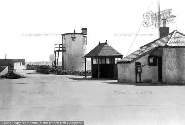 Porthcawl, Coastguard Station and Pilot Lookout Tower 1938