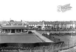 Porthcawl, Griffin Park c.1950