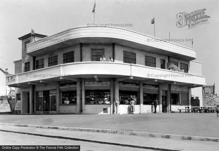 Photo of Porthcawl, New Continental Café 1938