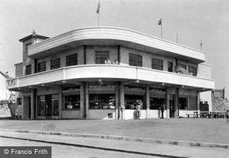 Porthcawl, New Continental Café 1938