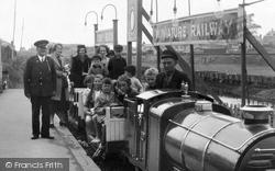 Passengers On The Miniature Railway 1938, Porthcawl