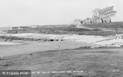Porthcawl, Rest Bay And Convalescent Home c.1955