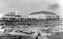 Seafront And Pavilion c.1955, Porthcawl