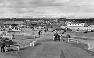 Porthcawl, the Boating Lake and Coney Beach c1960