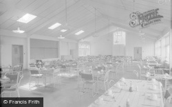 Porthcawl, The Dining Room, The Rest Convalescent Home 1959