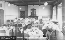 Porthcawl, The Dining Room, The Rest Convalescent Home c.1960
