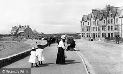 Porthcawl, The Esplanade 1901