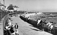 Porthcawl, the Lower Promenade c1955