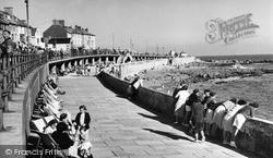 Porthcawl, The Lower Promenade c.1955