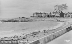 Porthcawl, The Promenade And Beach c.1955